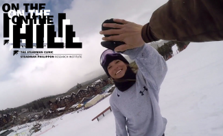 On The Hill: Chasing kinky waterfalls at the final Breck Friday Throwdown park jam (video)