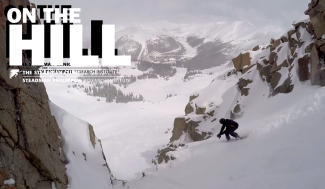 "On The Hill: Crushing 11"" in April on A-Basin's East Wall chutes, cliffs and everywhere else (video)"