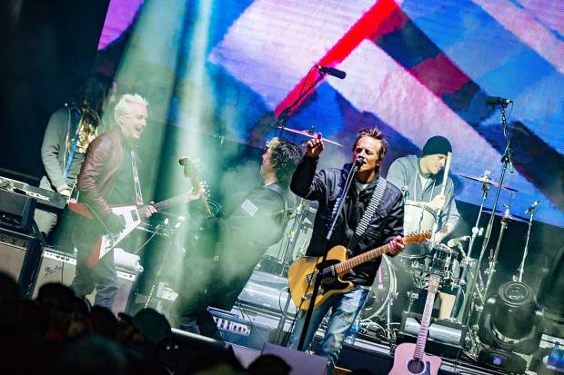 The 123GO! Project featured a free concert with Stefan Lessard of the Dave Matthews Band, Mike McCready of Pearl Jam, Brett Scallions of FUEL and drummer Kenneth Schalk Saturday in Vail.