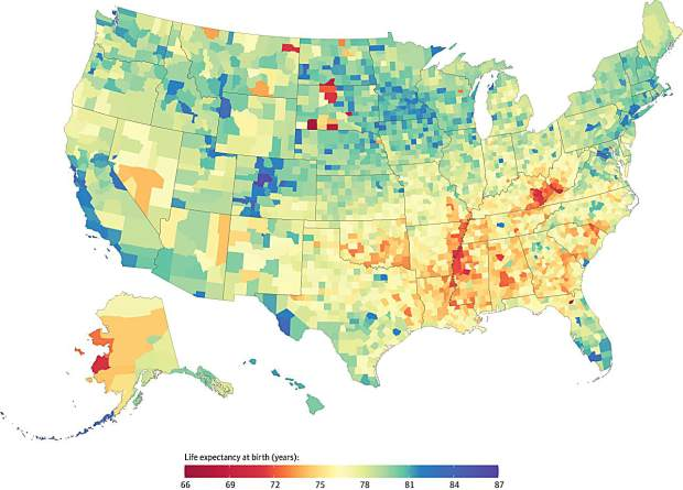 Summit County has the highest life expectancy in the nation, according to new study