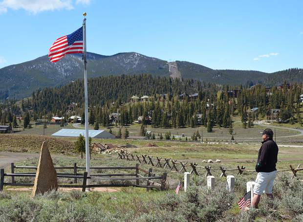 The Dillon Cemetery is site of an annual Memorial Day Remembrance Ceremony in Summit County. The hourlong observance, which starts at 10 a.m. on Monday, May 29, is emceed by Vietnam vet and Dillon resident Roman Moore.