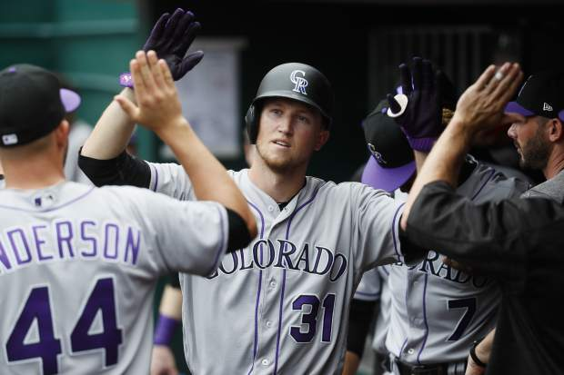 Amarista knocks in 4, Colorado Rockies overpower slumping Cincinnati Reds