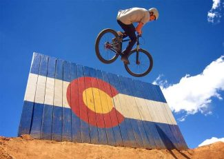 Gallery: Tail-tap the sky at the Frisco Bike Park summer jump jam (360 video)