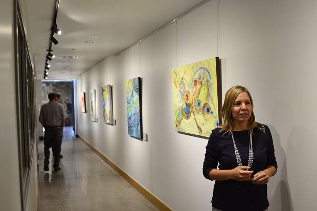 In addition to its performance areas, the Silverthorne Performing Arts Center will regularly display the works of local artists, both inside and outside the center.