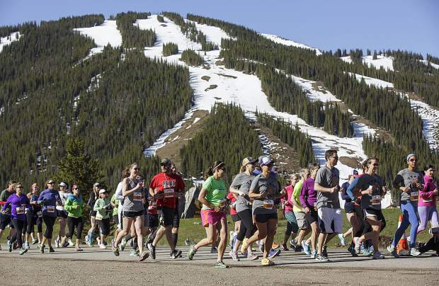 Run the Rockies participants in the 10K race at Copper Mountain Saturday, June 3, 2017.