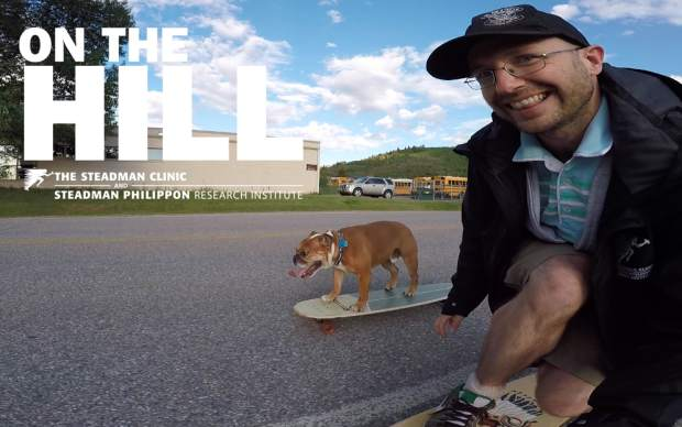 VIDEO: Meet Tank, skateboarding dog from the GoPro Mountain Games
