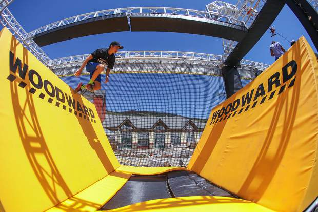 Hone your ninja skills at Copper Mountain's Woodward Wrecktangle (GoPro video)