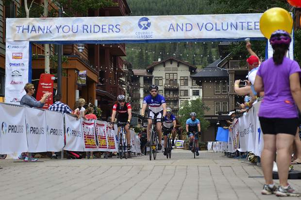 Courage Classic bike tour in support of Children's Hospital Colorado on Saturday, July 22