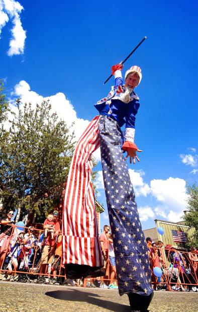Scenes from the Breckenridge Fourth of July parade.