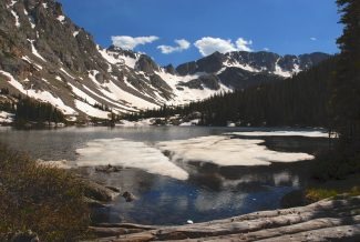 Bootprints Hiking Guide: Upper and Lower Boulder Lakes in the Eagles Nest Wilderness