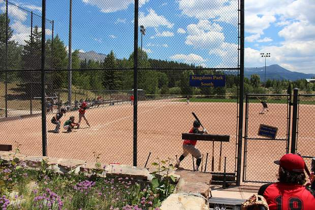 The Summit Extreme Black Diamonds took on the Steamboat Storm in a doulbeheader at Kingdom Park in Breckenridge. Summit lost the first game, 4-5, and won the second, 6-3.