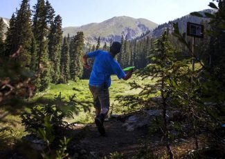 Yes, you can now play 9 holes of disc golf at Arapahoe Basin (video)