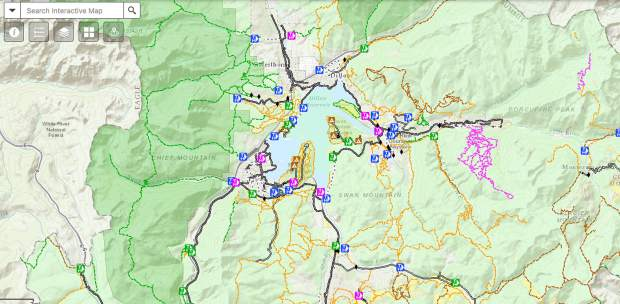 Summit County unveils new interactive trail map SummitDailycom