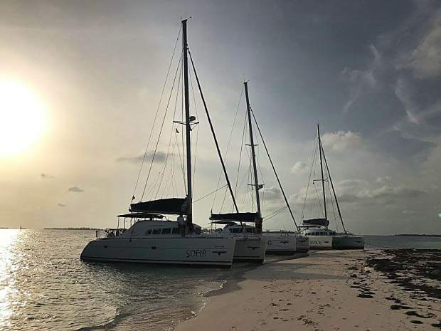 With a trailblazing spirit from those aboard, the three catamarans that guided a 27-man crew of Americans around coastal Cuba this summer may have had some natives thinking back to the Niña, the Pinta and the Santa Maria of Christopher Columbus' days.