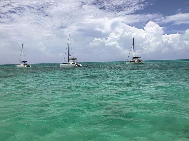 A large group of Americans, many of which hail from Summit County and Vail, helped set a new mark for U.S. sailing along the route from Cienfuegos, Cuba, to the islands of Cayo Guano and Cayo Largo del Sur. They completed the 86-nautical-mile (99-mile) journey aboard three 43-foot, rented catamarans.