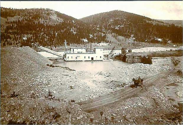 Originally built in 1908, the Reiling Dredge mined millions in gold until it sank in 1922.