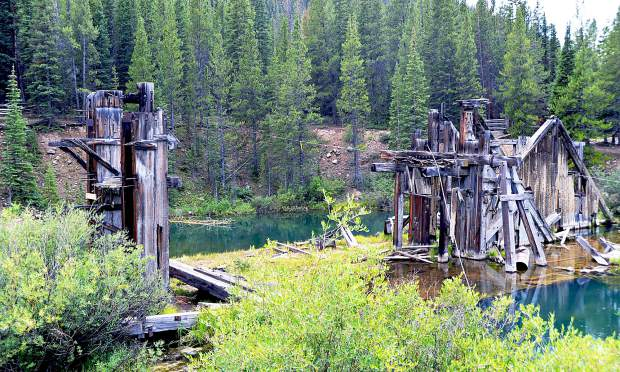 Summit County officials started a hydrology study on the historical Reiling Dredge last week.