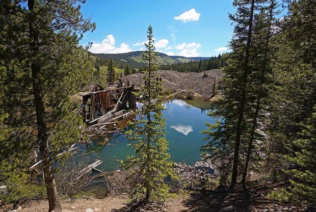 When worlds collide: Breckenridge, home to hundreds of relics from the state's mining past, including the dredge ponds and mine tailings of French Gulch, is no stranger to the push and pull of humanity in nature.