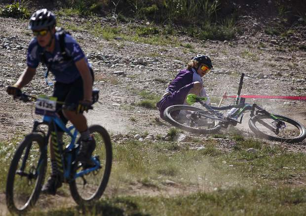 Scenes from the high school mountain bike races at Frisco Peninsula Saturday, Aug. 26, in Frisco.
