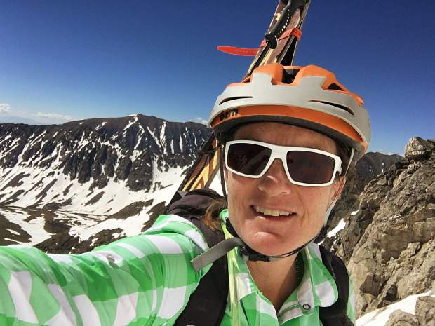 c9c331fb0012 Allison Seymour in the Decoy from Zeal Optics on a summer backcountry  mission to Drift Peak in Summit County. The Boulder-based manufacturer uses  ...