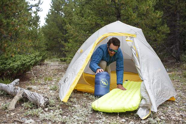 high gear field review of big agnes ul tent pad and sleeping bag