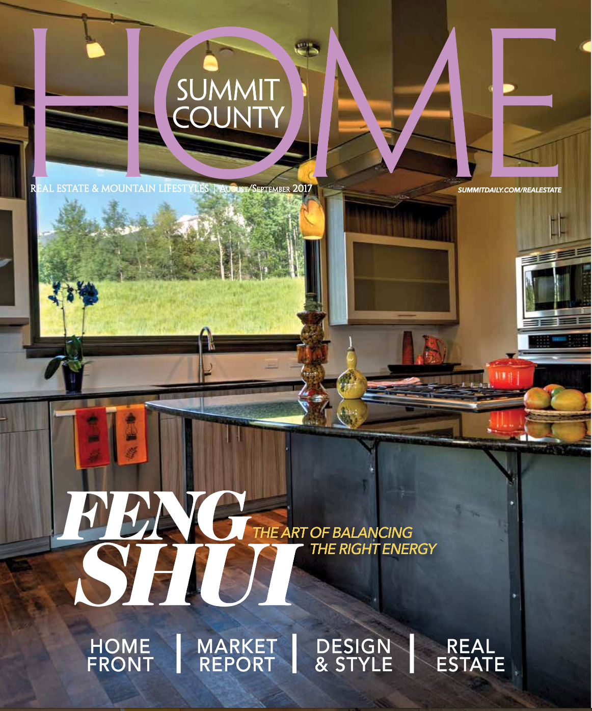 Summit County Home: August/September 2017