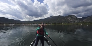 Summit 360: Ride the 8-person stand-up paddleboard on Lake Dillon