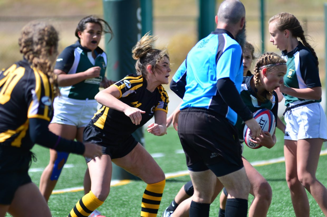 Summit Green girls rugby Saturday, Sept. 23, 2017.