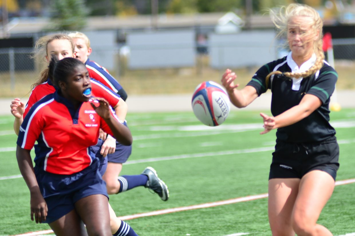 Summit Black girls rugby Saturday, Sept. 23, 2017.
