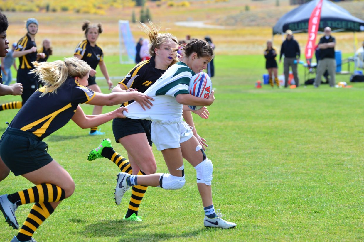 Summit White girls rugby Saturday, Sept. 23, 2017.