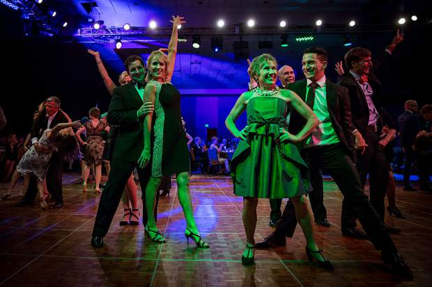 Dancing with the Mountain Stars celebrated its 10th and final year Saturday at the Keystone Conference Center with more than 40 community stars, who all had competed in previous years, performing group numbers. Altogether, the event has raised $290,000, according to organizers.