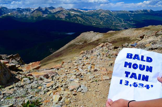 Bald Mountain is a 13,000 peak near Breckenridge. The hike is rated as moderate, and occasionally requires class 2 hiking moves, in which one must use their hands for balance.