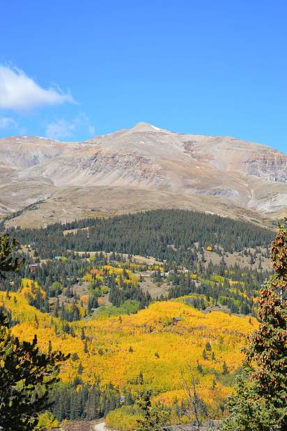 Coming down Hoosier Pass into Park County lends itself to spectacular views of the valley.