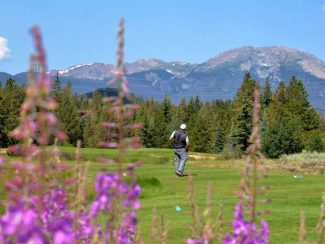 True Colorado mountain golf at Copper Creek Golf Course and Keystone golf club