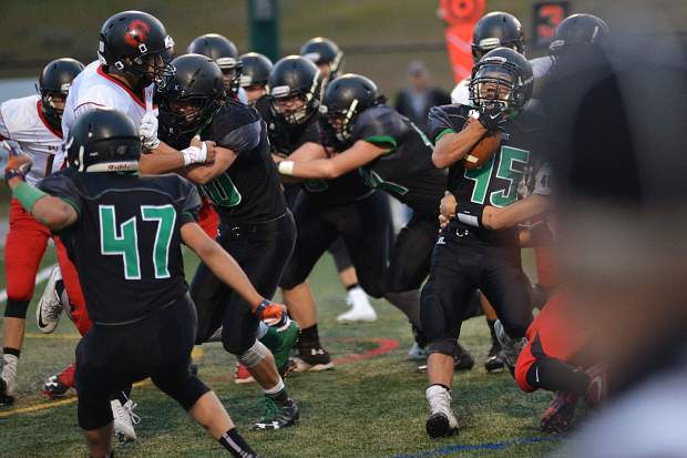 Summit football defeats Steamboat Springs, 24-3, on Friday, Sept. 1, 2017.