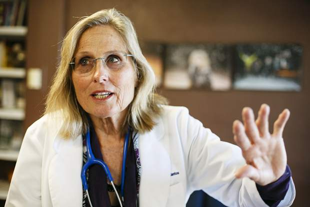 Dr. Christine Ebert-Santos, MD, has operated her pediatric clinic in Summit County for 17 years. Over that time she's seen any number of cases of what she has diagnosed as high-altitude pulmonary edema, including in long-term residents, and continues to strive for getting the elevation-related ailment full medical recognition.