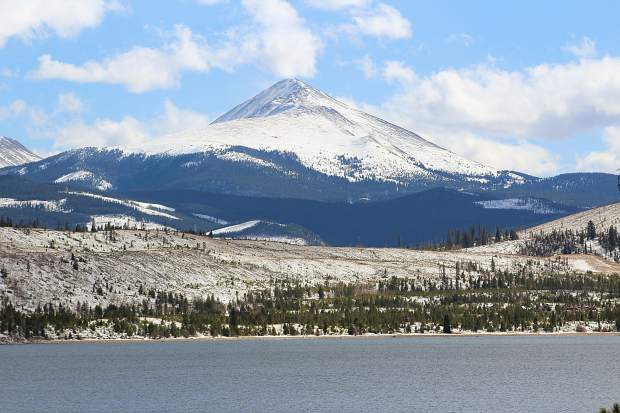 Mount Baldy and Lake Dillon last Saturday.