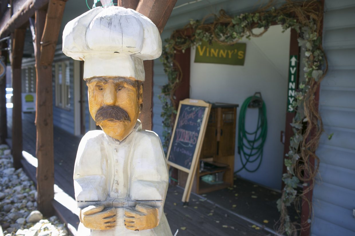 Vinny's Restaurant in Frisco.