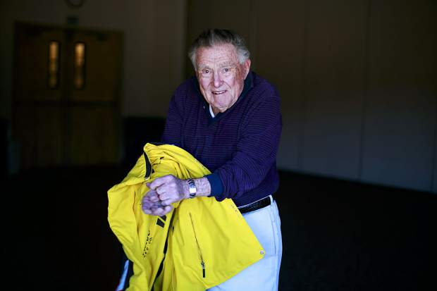 Frank Walter, at age 95, who was been skiing for at least nine decades, will be skiing again this season at Copper Mountain.