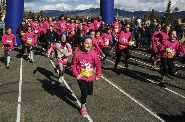 Runners take part of the