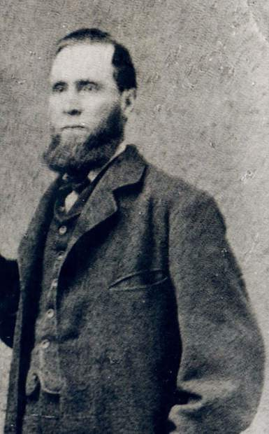Thomas Breckenridge, 1896. Breckenridge, a member of the 1845 Fremont expedition and the 1859 Spaulding party gave his name to Breckenridge Pass and later, probably, the town of Breckenridge.