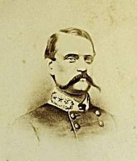 Vice President John Cabell Breckinridge. Later a major general in the Confederate Army and secretary of war for the Confederacy, Breckinridge held very conservative, pro-slavery views.