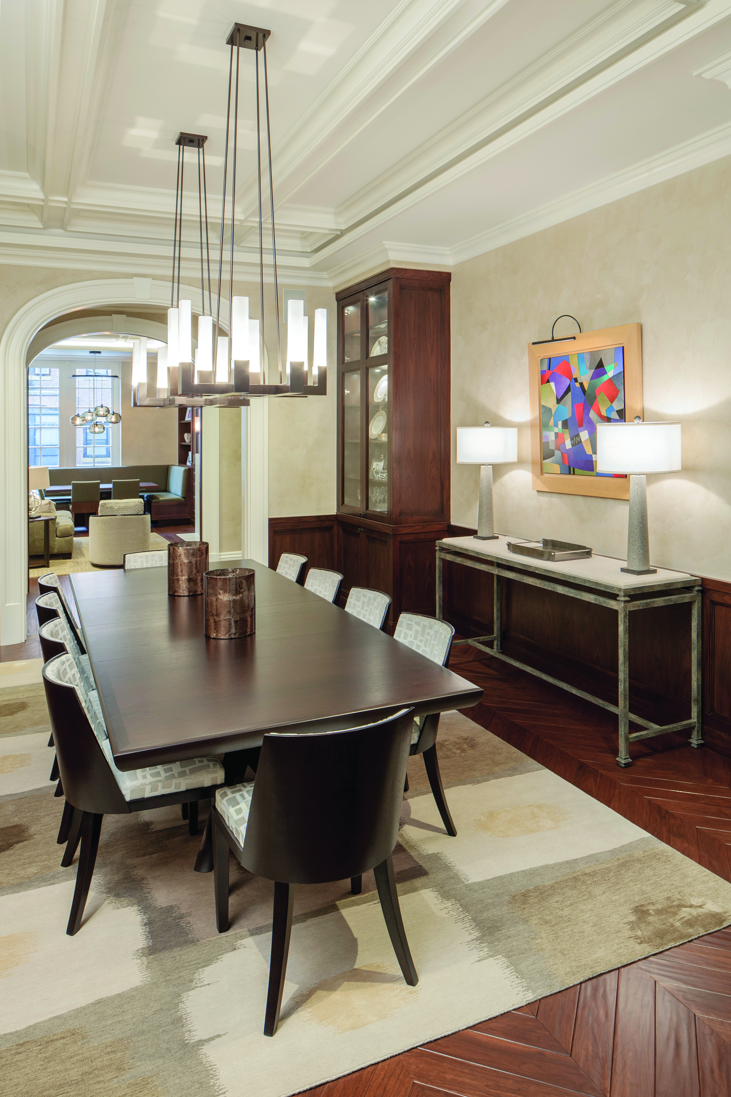 The Gathering Space: Dining rooms have evolved in both style and purpose over the years
