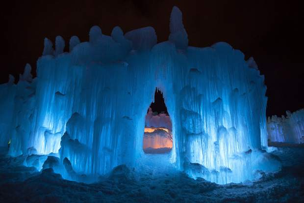Dillon Ice Castles a big hit for local businesses, drawing ...