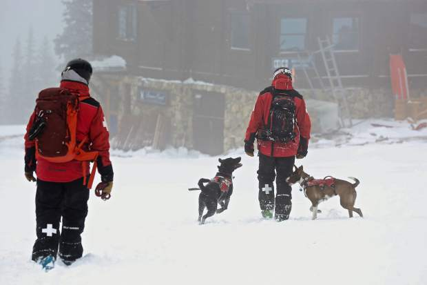 Many of the Ski Patrol buildings on Beaver Creek have kennels. Feel free to say hello to the dogs, just be sure to say hello to their humans first.