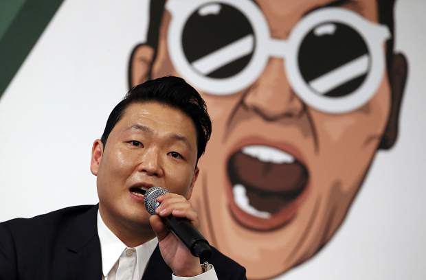 This is South Korean K-Pop singer PSY, famous for the song