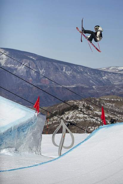 Maggie Voisin skis last month during her first run in the U.S. Grand Prix women's slopestyle finals in Snowmass, Colo. Four years ago as the youngest person to qualify for the 2014 U.S. Olympic team as a 15-year-old, Voisin would not get her chance to become the youngest person to compete for the 2014 U.S. Olympic team.