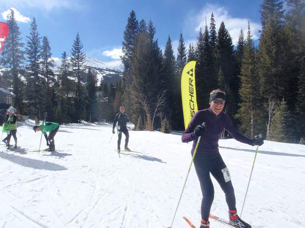Nordic competitors ski during the 16th Annual Breckebeiner 60K Ski & Snowshoe Bash, an annual benefit for the Breckenridge Outdoor Education Center that this year has, thus far, raised more than $18,500.
