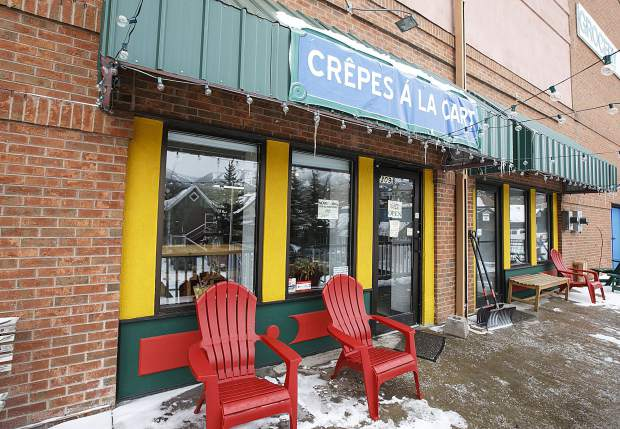 Crepes A La Cartet's second location Tuesday, March 20, in Breckenridge.