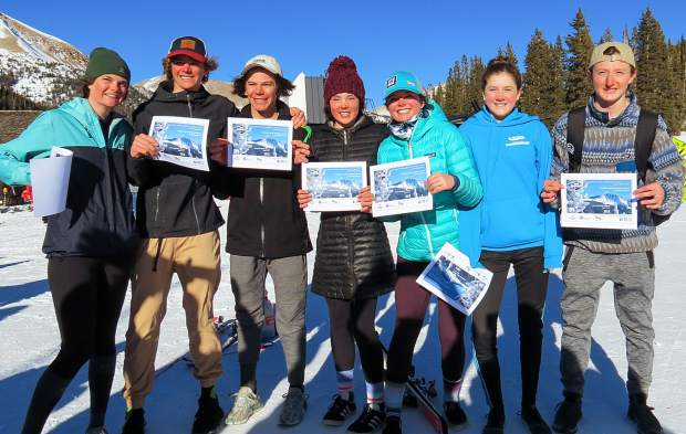 A program record eight 16-and-under Team Summit Alpine athletes qualified for the March 5 Rocky Mountain Division Junior Championships, including Trent Pennington, Jake Lau, Kuba Marusarz, Olyvia Snyder, Emily Creek, Camille Thompson, Anna Rodli, and Abby Schierholz.